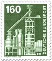 Briefmarke: Hochofenanlage