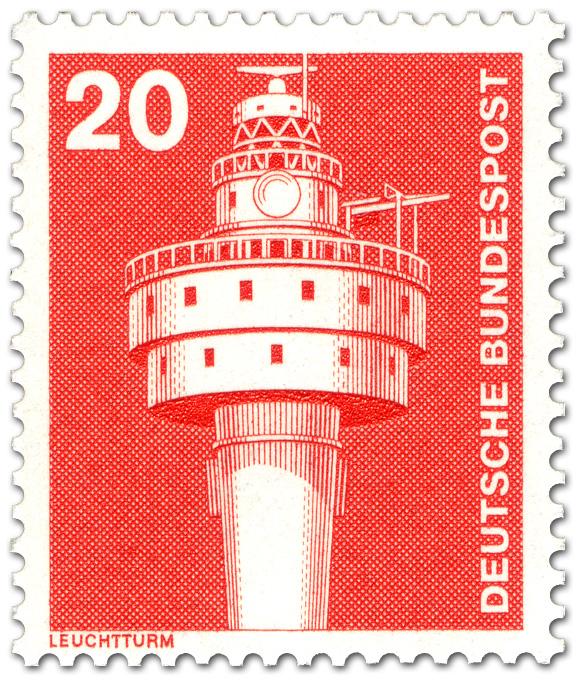Leuchtturm 1975 Briefmarke 1975