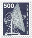 Briefmarke: Radioteleskop