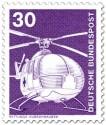 Briefmarke: Rettungshubschrauber