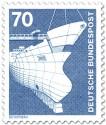 Briefmarke: Schiffbau, Werft