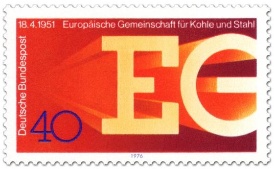 Briefmarke: EGKS: Gemeinschaft für Kohle und Stahl