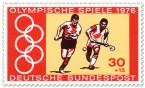 Briefmarke: Feldhockey Männer (Olympia 1976)