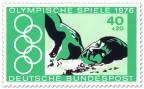 Briefmarke: Freistil-Schwimmen (Olympia 1976)
