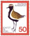 Briefmarke: Goldregenpfeifer (Vogel)