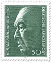 Briefmarke: Konrad Adenauer (100. Geburtstag)