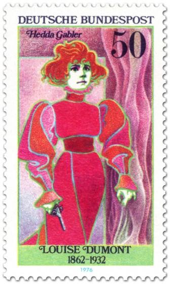 Briefmarke: Louise Dumont (Schauspielerin) Hedda Gabler