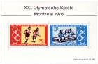 Olympische Spiele 1976 Briefmarkenblock