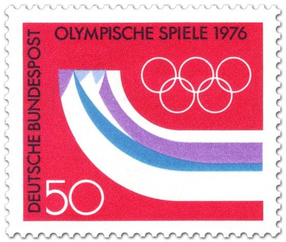 Briefmarke: Olympische Spiele 1976 Insbruck