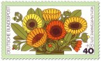 Briefmarke: Ringelblume, Calendula
