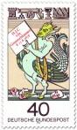 Briefmarke: Teufel, Fabelwesen von H.J.C. von Grimmelshausen