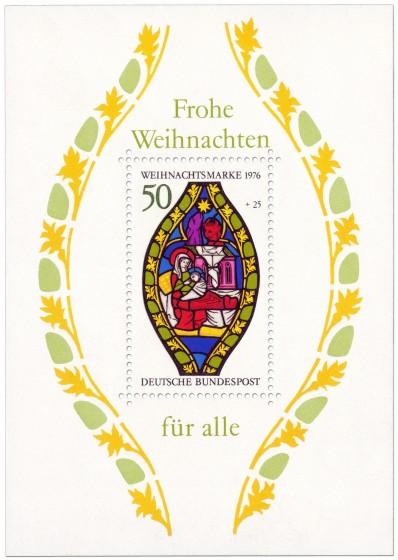 Briefmarke: Maria mit Jesuskind (Weihnachtsmarke 1976)