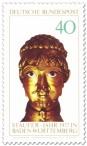 Briefmarke: Barbarossakopf (Stauferjahr in Baden-Württemberg)
