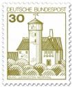 Briefmarke: Burg Ludwigstein Werratal