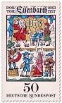 Briefmarke: Doktor Johannes Andreas Eisenbarth (Arzt)
