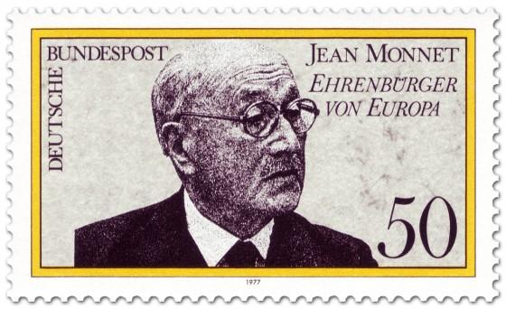 Briefmarke: Jean Monnet - Ehrenbürger Europas
