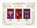 Briefmarke: Jugendstil Deutschland (Briefmarken-Block)