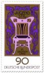 Briefmarke: Jugendstil Ornamente Stuhl