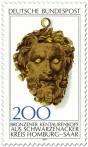Briefmarke: Kentaur-Kopf aus Bronze (Schwarzenacker)