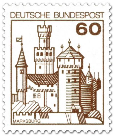Briefmarke: Marksburg
