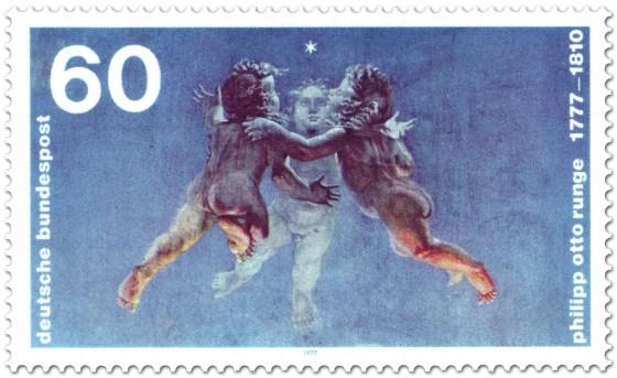 Briefmarke: Putten von Philipp Otto Runge