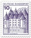 Briefmarke: Schloss Glücksburg