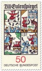 Briefmarke: Till Eulenspiegel Illustrationen