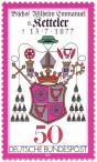 Briefmarke: Wappen Willhelm Emmanuel von Ketteler (Bischof)