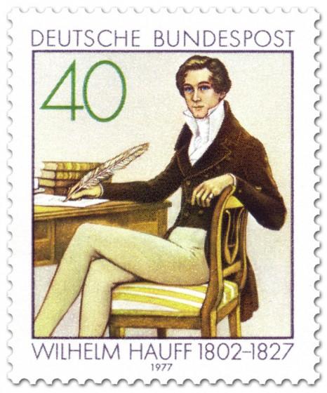 Briefmarke: Wilhelm Hauff (Märchenerzähler)