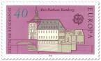 Briefmarke: Altes Rathaus Bamberg