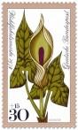 Briefmarke: Aronstab (Waldblume)