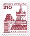 Briefmarke: Burg Schwanenburg