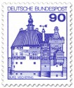 Briefmarke: Burg Vischering