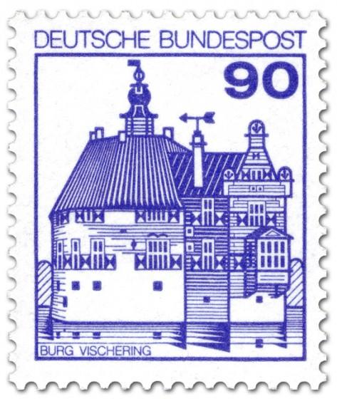 Briefmarke: Burg Vischering