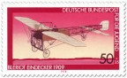Briefmarke: Eindecker von Louis Blériot
