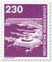 Briefmarke: Flughafen Frankfurt am Main