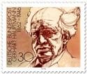 Briefmarke: Gerhardt Hauptmann Schriftsteller