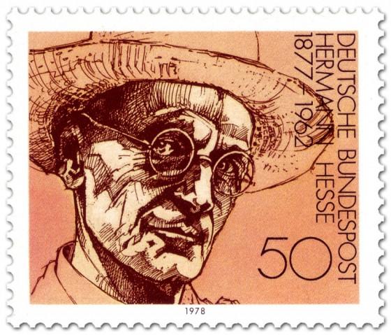 Briefmarke: Hermann Hesse Schriftsteller