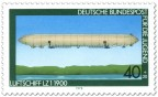 Briefmarke: Luftschiff LZ 1 1900