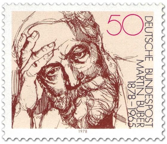 Briefmarke: Martin Buber (Philosoph)