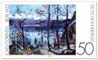 Briefmarke: Ostern am Walchensee von Lovis Corinth