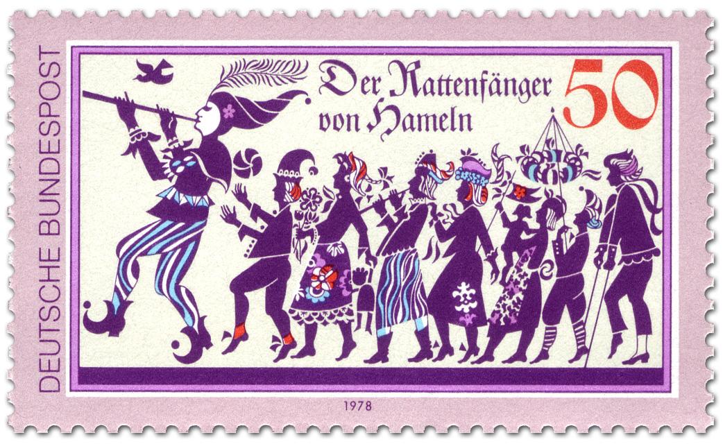 Super Der Rattenfänger von Hameln, Briefmarke 1978 VJ57