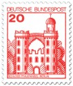 Briefmarke: Schloss Pfaueninsel Berlin (20)