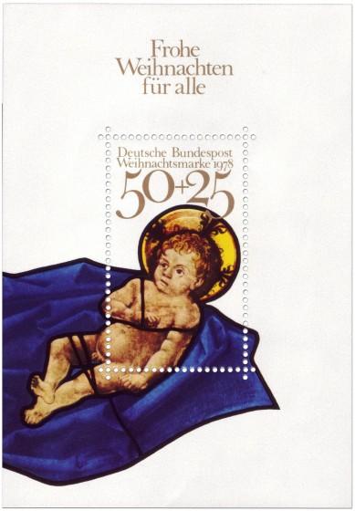 Briefmarke: Weihnachtsmarke 1978: Jesuskind