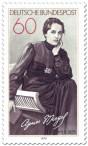 Briefmarke: Agnes Miegel (Schriftstellerin, Dichterin)