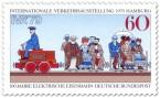 Briefmarke: Historische elektrische Eisenbahn