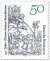 Briefmarke: Buchillustration von Lucas Cranach