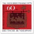 Briefmarke: Posthausschild aus Altheim an der Saar
