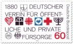 Briefmarke: 100 Jahre öffentliche und private Fürsorge