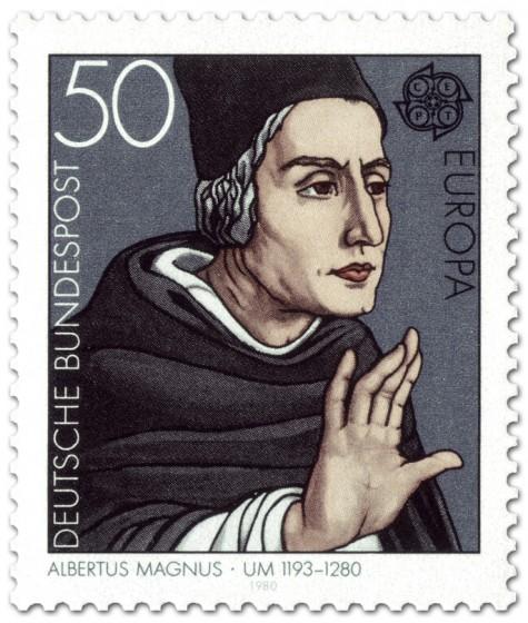 Briefmarke: Albertus Magnus (Philosoph)